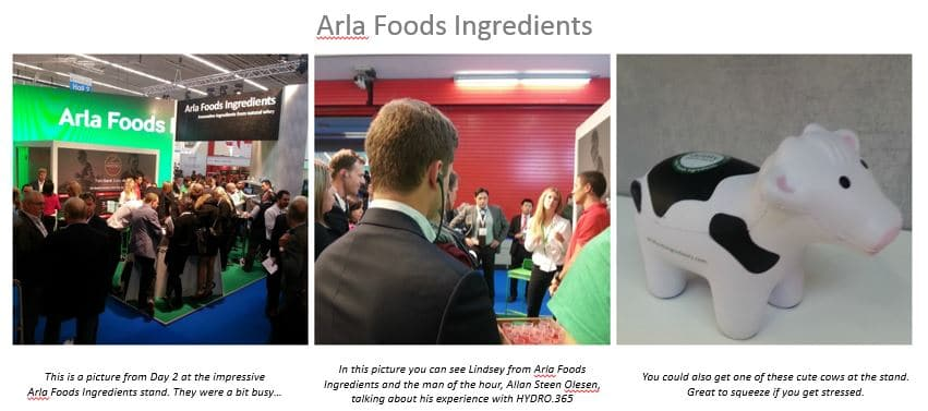 Arla pictures with caption